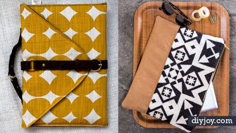 34 DIY Laptop Bags That Are Sure To Match Your Awesome Style | DIY Joy Projects and Crafts Ideas