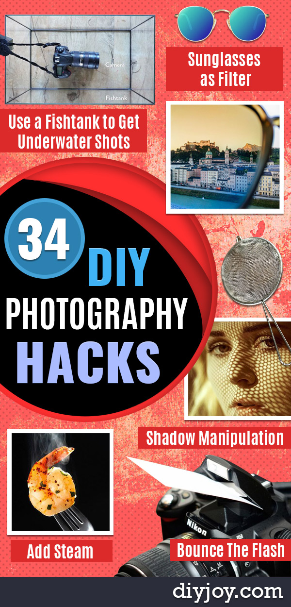 DIY Photography Hacks - Easy Ways to Make Photo Equipment and Props | Photo and Lighting, Backdrops | Projects for Shooting Best Photos
