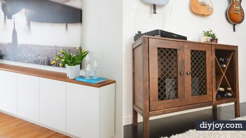 34 DIY Sideboards | DIY Joy Projects and Crafts Ideas