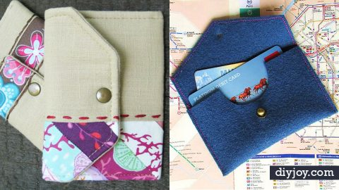 34 DIY Wallets   DIY Joy Projects and Crafts Ideas