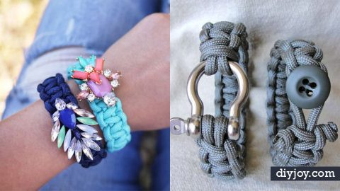 50 + Paracord Bracelets With Step by Step How To | DIY Joy Projects and Crafts Ideas