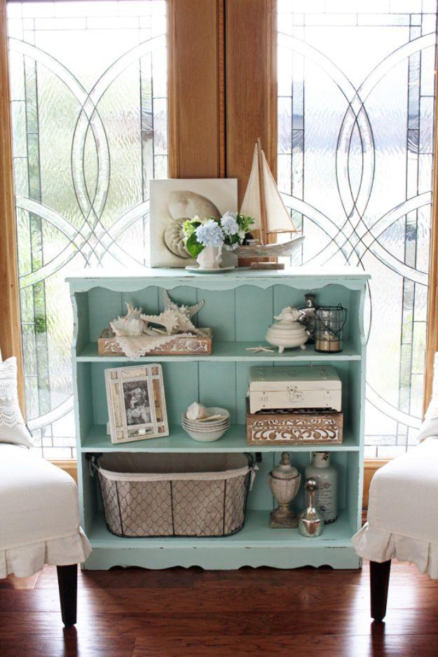 DIY Bookshelf Ideas - Bookcase Makeover - DYI Bookshelves and Projects - Easy and Cheap Home Decor Idea for Bedroom, Living Room - Step by Step tutorial #diy #diyideas #diydecor #homedecor