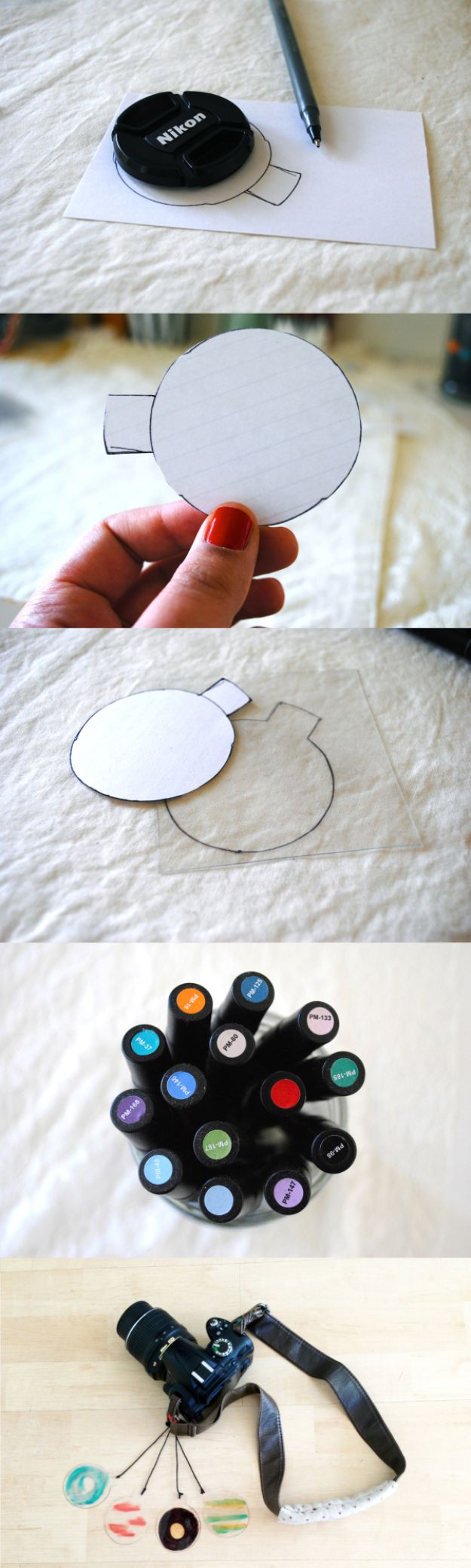DIY Photography Hacks - Colored Lens Filter DIY - Easy Ways to Make Photo Equipment and Props | Photo and Lighting, Backdrops | Projects for Shooting Best Photos