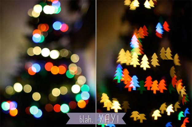DIY Photography Hacks - Cool Bokeh Filters - Easy Ways to Make Photo Equipment and Props | Photo and Lighting, Backdrops | Projects for Shooting Best Photos
