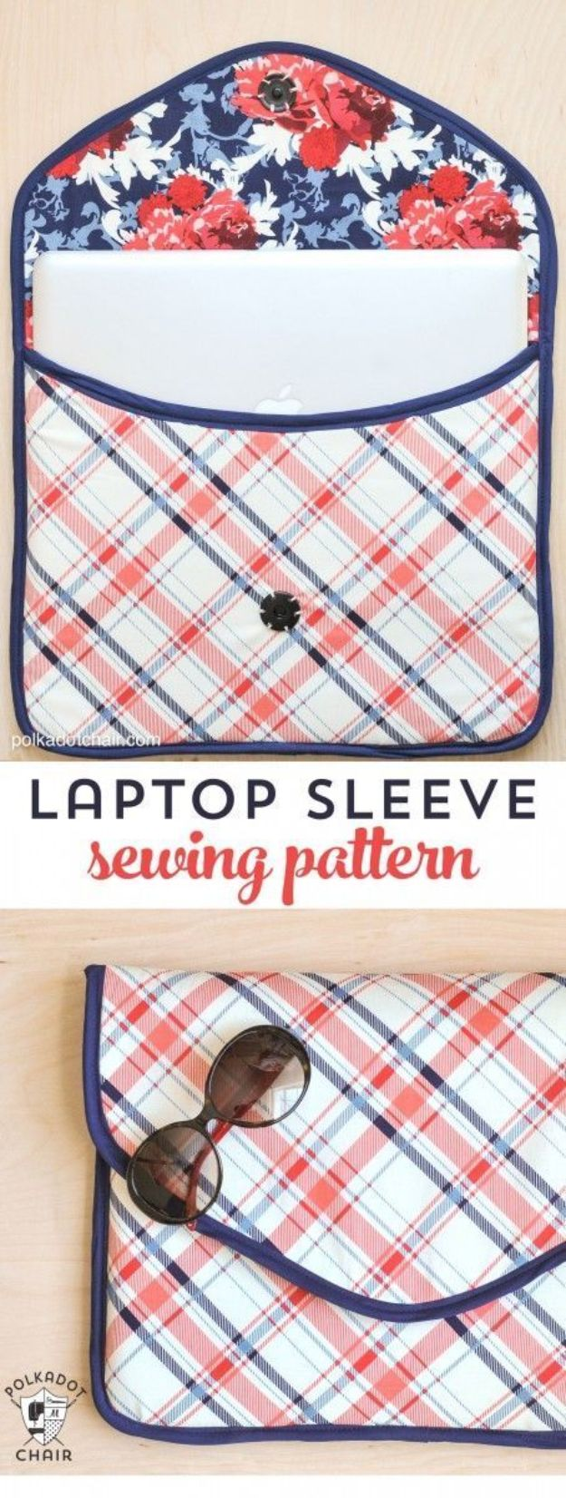 DIY Laptop Bags - DIY Laptop Sleeve Clutch - Easy Bag Projects to Make For Your Computer - Cool and Cheap Homemade Messnger Bags, Cases for Laptops - Shoulder Bag and Briefcase, Backpack