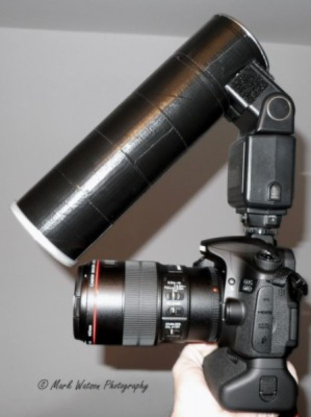 DIY Photography Hacks - DIY Macro Diffuser - Easy Ways to Make Photo Equipment and Props | Photo and Lighting, Backdrops | Projects for Shooting Best Photos