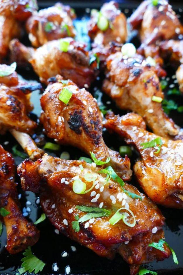 Potluck Recipe Ideas - Easy Instant Pot Teriyaki Wings - Easy Recipes to Take To Potlucks - Dinner Casseroles, Salads, One Pot Meals, Pasta Dishes, Quick Crockpot Recipes
