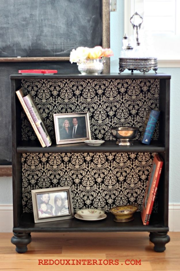 DIY Bookshelf Ideas - Elegant and Classy Idea to Store your Books - DYI Bookshelves and Projects - Easy and Cheap Home Decor Idea for Bedroom, Living Room - Step by Step tutorial #diy #diyideas #diydecor #homedecor