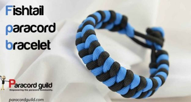 DIY Paracord Bracelet Ideas - Fishtail Paracord Bracelet - Tutorials for Easy Woven Paracord Bracelets | Survival and Stitched Patterns With Instructions and How To