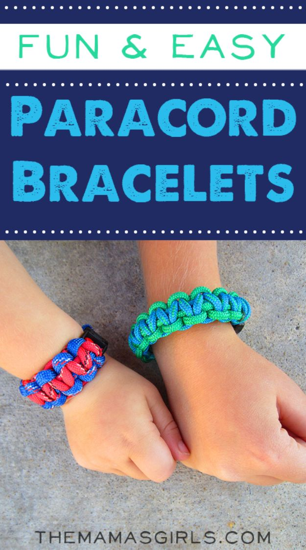 DIY Paracord Bracelet Ideas - Fun and Easy Paracord Bracelets - Tutorials for Easy Woven Paracord Bracelets   Survival and Stitched Patterns With Instructions and How To