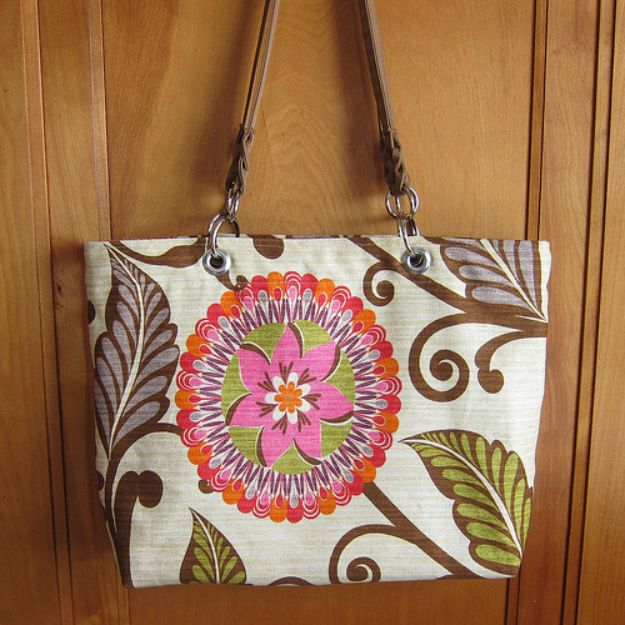 DIY Laptop Bags - Laptop Tote Bag - Easy Bag Projects to Make For Your Computer - Cool and Cheap Homemade Messnger Bags, Cases for Laptops - Shoulder Bag and Briefcase, Backpack
