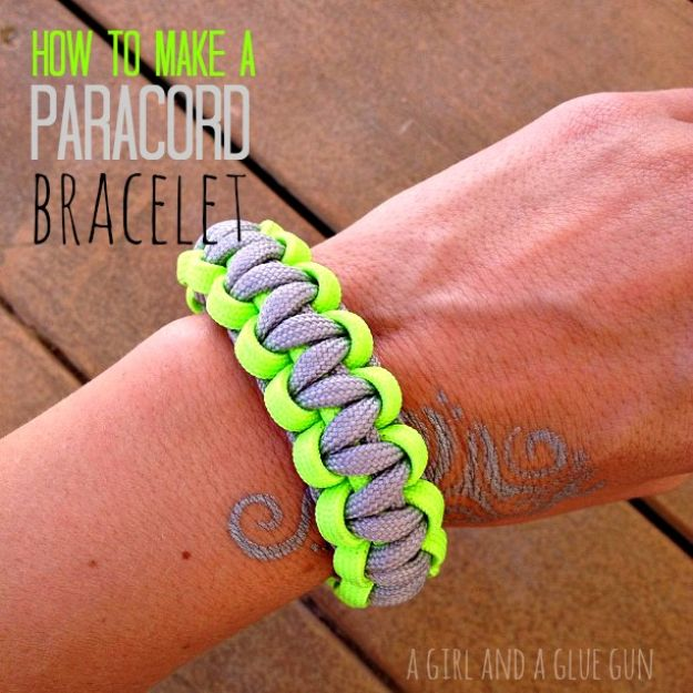 DIY Paracord Bracelet Ideas - MAke A Fun Paracord Bracelet - Tutorials for Easy Woven Paracord Bracelets | Survival and Stitched Patterns With Instructions and How To