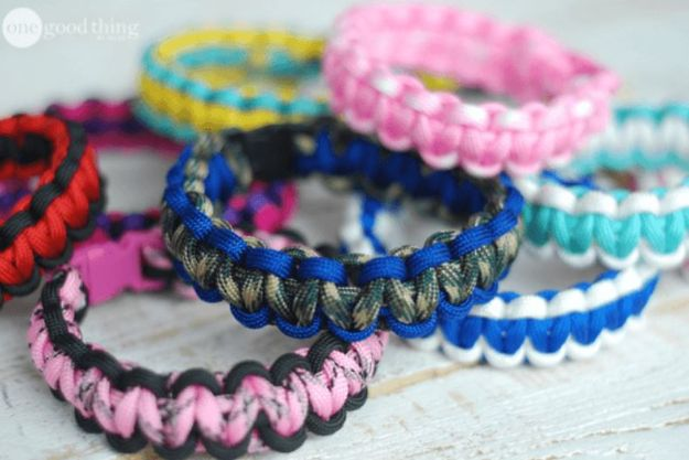 DIY Paracord Bracelet Ideas - Mosquito Repellent Paracord Bracelet - Tutorials for Easy Woven Paracord Bracelets | Survival and Stitched Patterns With Instructions and How To