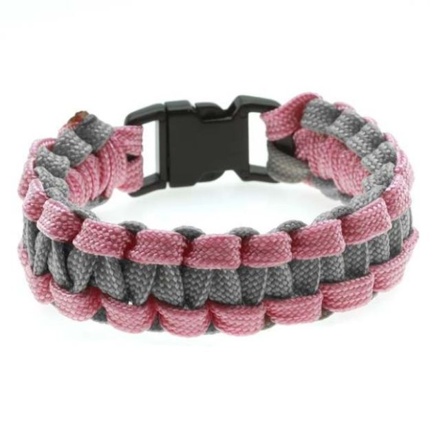DIY Paracord Bracelet Ideas - Narrow Paracord Bracelet - Tutorials for Easy Woven Paracord Bracelets | Survival and Stitched Patterns With Instructions and How To