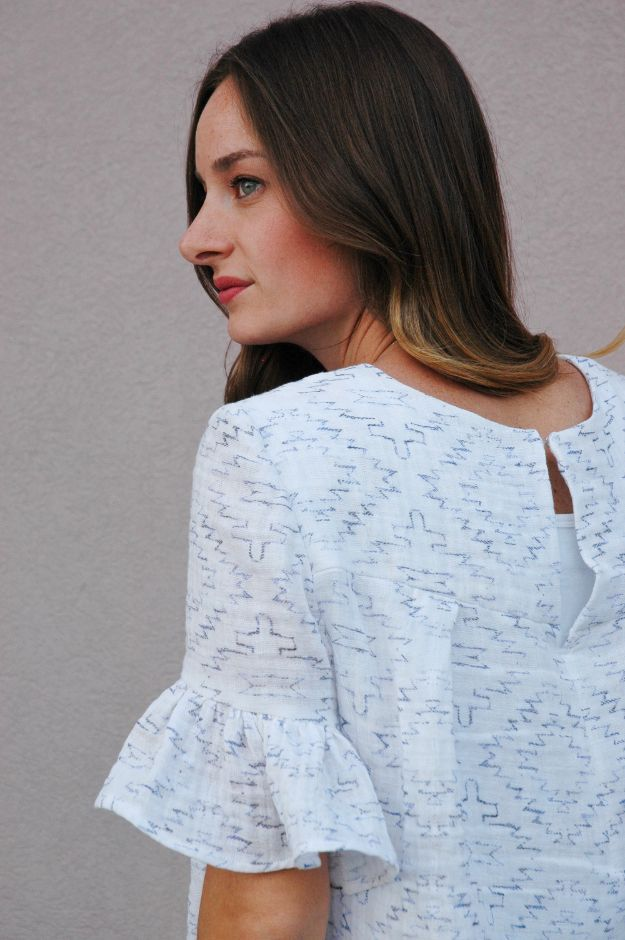 DIY Boho Clothes and Jewelry - Sew a Beginner Boho Blouse - How to Make Easy Boho Fashion On A Budget - Edgy Homemade Hippe Clothing Ideas for Summer, Winter, Spring and Fall