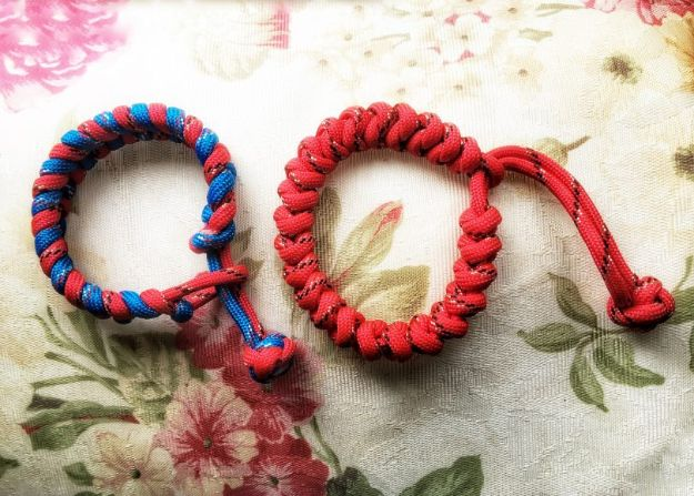 DIY Paracord Bracelet Ideas - Simple Cobra Knot Paracord Bracelet - Tutorials for Easy Woven Paracord Bracelets | Survival and Stitched Patterns With Instructions and How To