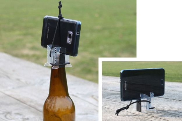 DIY Photography Hacks - Smartphone Tripod – Photography Hack - Easy Ways to Make Photo Equipment and Props | Photo and Lighting, Backdrops | Projects for Shooting Best Photos