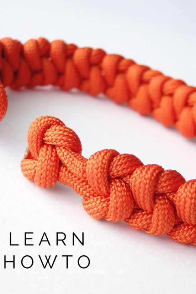 DIY Paracord Bracelet Ideas - True Lovers Knot Paracord Bracelet - Tutorials for Easy Woven Paracord Bracelets | Survival and Stitched Patterns With Instructions and How To