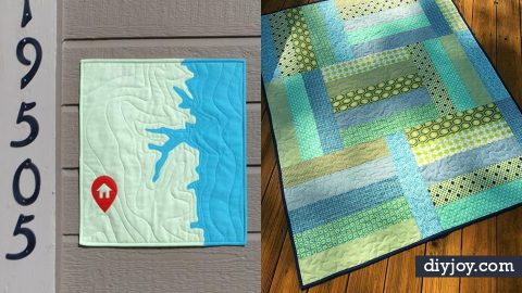 34 Quilt Ideas for Beginners With Free Quilt Patterns | DIY Joy Projects and Crafts Ideas