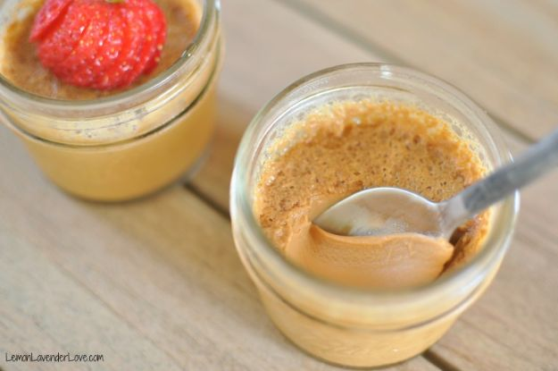 Instant Pot Desserts - Caramel Pot de Creme - Easy Dessert Ideas to Make in Your Instant Pot - Quick Cheesecake, Brownies, Cake - Healthy Idea With Fruit, Gluten Free