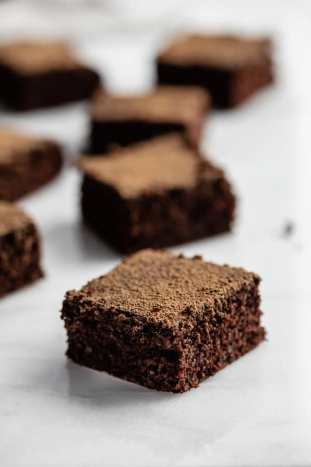 Quinoa Recipes - Healthy Quinoa Brownies - Easy Salads, Side Dishes and Healthy Recipe Ideas Made With Quinoa - Vegetable and Grain To Serve For Lunch, Dinner and Snack