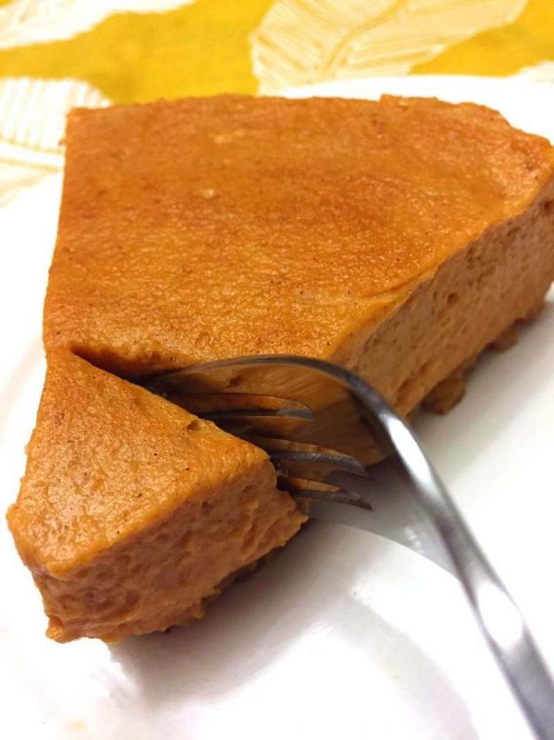 Instant Pot Desserts - Instant Pot Pumpkin Pie - Easy Dessert Ideas to Make in Your Instant Pot - Quick Cheesecake, Brownies, Cake - Healthy Idea With Fruit, Gluten Free