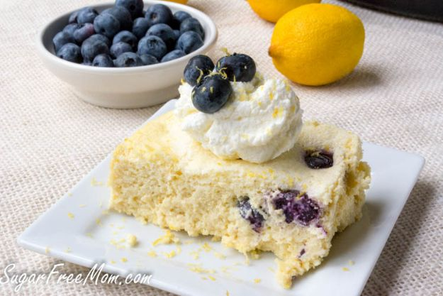 Instant Pot Desserts - Low Carb Custard Cake - Easy Dessert Ideas to Make in Your Instant Pot - Quick Cheesecake, Brownies, Cake - Healthy Idea With Fruit, Gluten Free