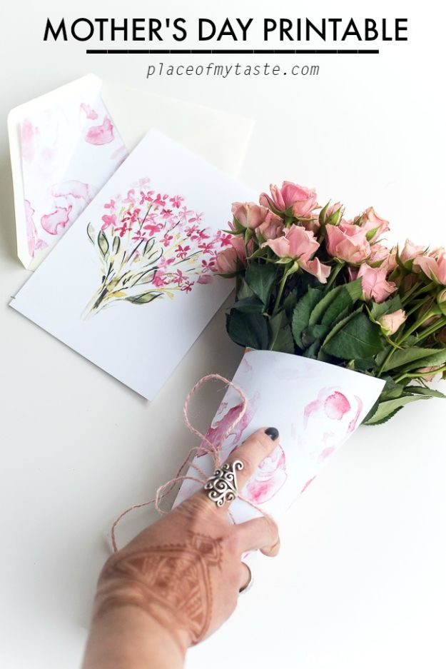 Cheap Mothers Day Gifts - Mother's Day Printable - Homemade Presents and Gift Ideas for Mom - Cute and Easy Things to Make For Mother