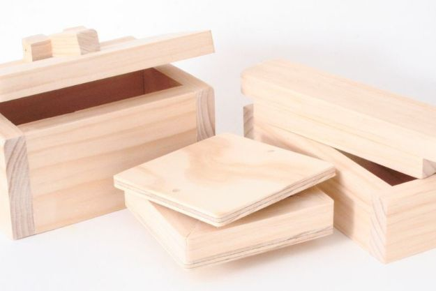 Easy Woodworking Projects - Simple Wooden Boxes - Cool DIY Wood Projects for Beginners - Easy Project Ideas and Plans for Homemade Gifts and Decor