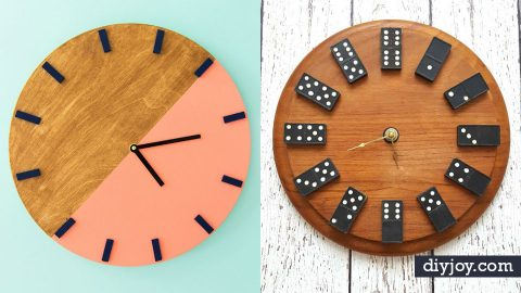 34 DIY Clocks That Do More Than Tell Time | DIY Joy Projects and Crafts Ideas