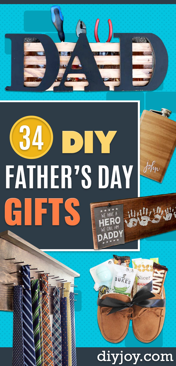 DIY Fathers Day Gifts - Homemade Presents and Gift Ideas for Dad - Cute and Easy Things to Make For Father