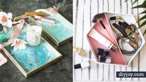 34 Instagram Worthy DIY Vanity Trays