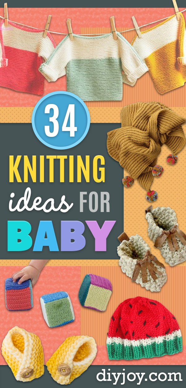 34 Knitting Ideas For Baby