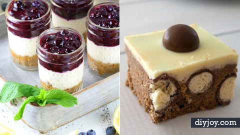 35 No Bake Dessert Recipes | DIY Joy Projects and Crafts Ideas
