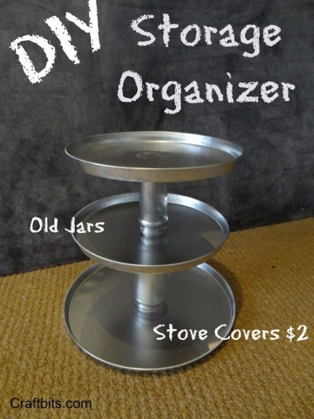 DIY Vanity Trays - Bathroom Tin Tray Organizer - Easy Homemade Decor for Bathroom, Bedroom and Vanities - Tray to Store Jewelry and Accessories With These Cool and Easy Crafts