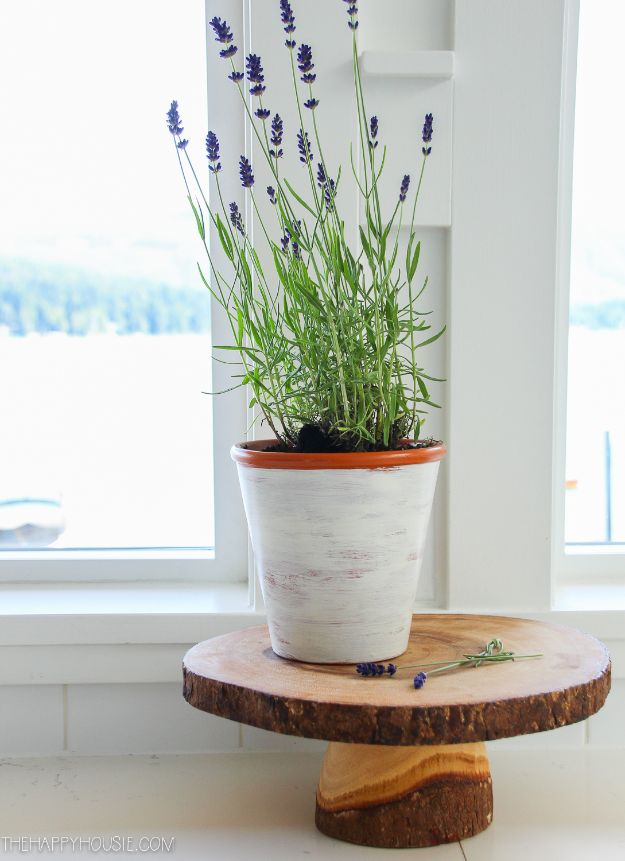 DIY Ideas for Clay Pots - DIY Glazed Clay Pots - Cute Gardening Projects Tutorials for Decorating Pots - Pretty Rustic and Farmhouse Planters for Cheap Home Decor