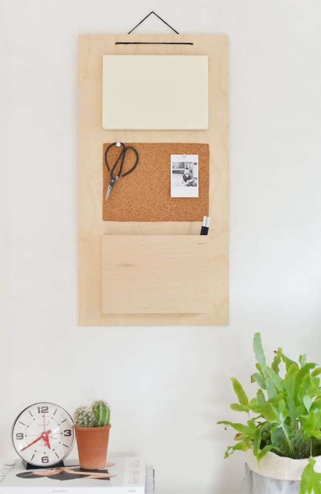 DIY Mail Organizers - DIY Hanging Organizer - Cheap and Easy Ideas for Getting Organized - Creative Home Decor on A Budget - Farmhouse, Modern and Rustic Mail Sorter, Organizer