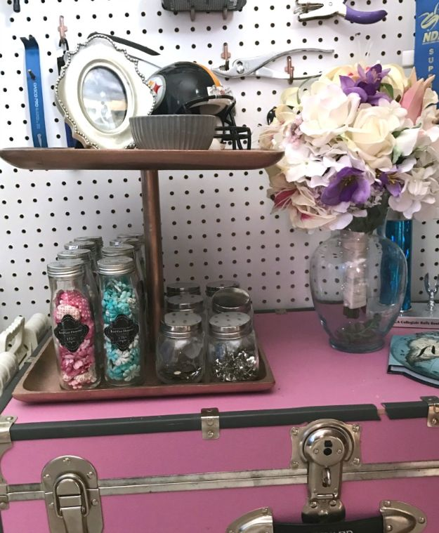 DIY Vanity Trays - DIY a 2-Tiered Tray – From Baking Tins - Easy Homemade Decor for Bathroom, Bedroom and Vanities - Tray to Store Jewelry and Accessories With These Cool and Easy Crafts