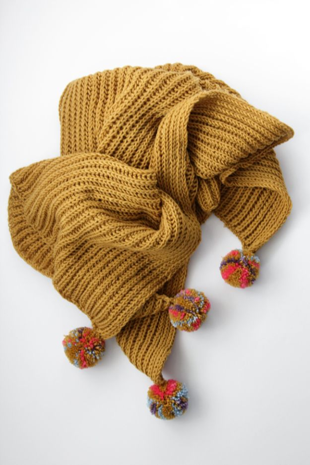 DIY Knitting Ideas for Baby - Fisherman's Rib Baby Blanket - Easy Blanket, Hat, Booties, Toys and Sweater Tutorials to Knit for Babies - Boy and Girl Clothes and Nursery Decor for Gifts