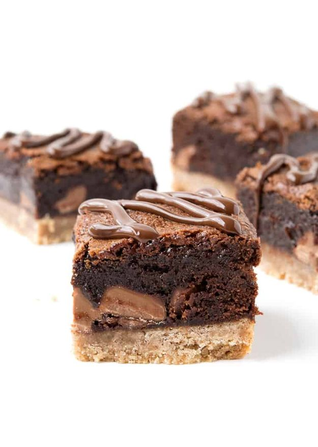 Brownie Recipes   Gingerbread Chocolate Brownies - Easy and Healthy Recipe Ideas for Brownies - Chocolate, Blondies, Gluten Free and Caramel