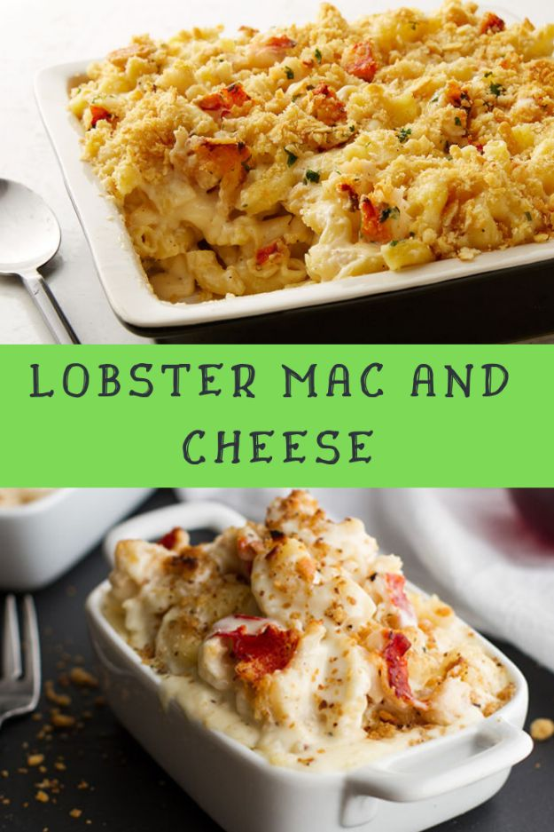 Mac and Cheese Recipes | Lobster Mac and Cheese - Easy Recipe Ideas for Macaroni and Cheese - Quick Side Dishes