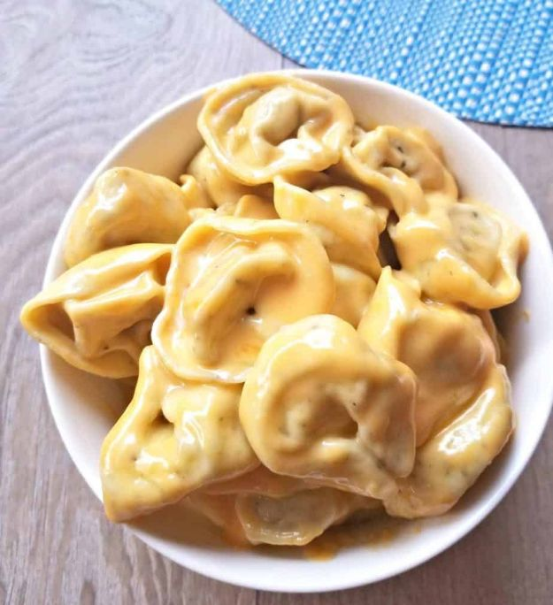 Mac and Cheese Recipes | Mac and Cheese Tortellini - Easy Recipe Ideas for Macaroni and Cheese - Quick Side Dishes