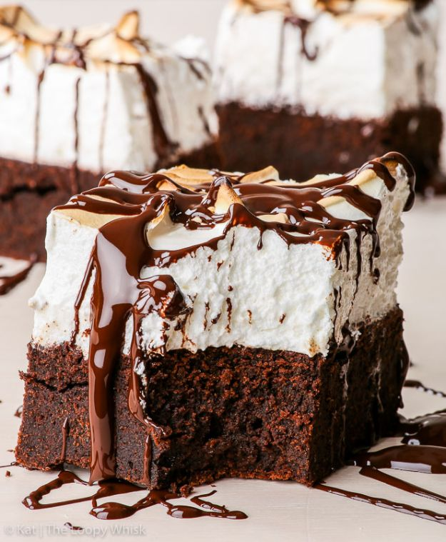 Brownie Recipes   Marshmallow Brownies - Easy and Healthy Recipe Ideas for Brownies - Chocolate, Blondies, Gluten Free and Caramel