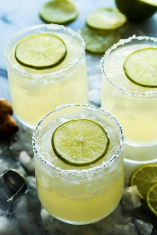 Margarita Recipes - Prosecco Margaritas - Drink Recipes for a Party - Recipe Ideas for Blender Margaritas - Lime, Strawberry, Fruit | Easy Drinks With Tequila