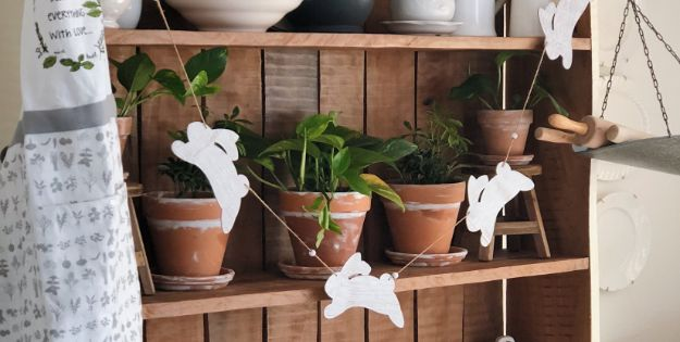DIY Ideas for Clay Pots - Spring Terra Cotta Pots - Cute Gardening Projects Tutorials for Decorating Pots - Pretty Rustic and Farmhouse Planters for Cheap Home Decor