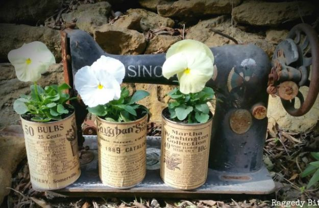 DIY Ideas With Tin Cans - Tin Can Tinker - Cheap and Easy Organizing Projects and Crafts Made With A Tin Can - Cool Teen Craft Tutorials and Home Decor