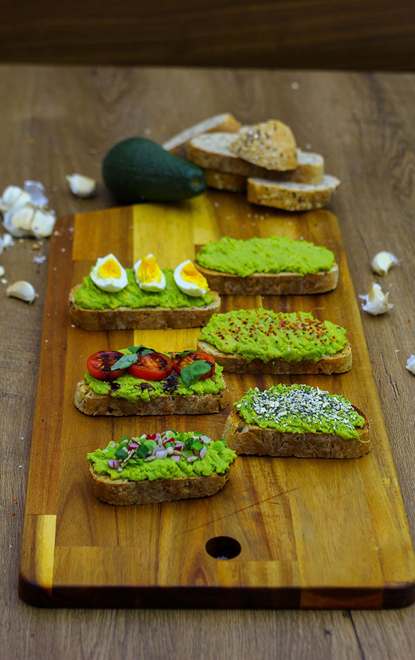 Avocado Toast Recipes - How to Make Avocado Toast at Home -6 Easy Ways To Get Homemade Avocado Toast - Egg, Everything, Caprese With Tomato and Basil, Loaded, Classic