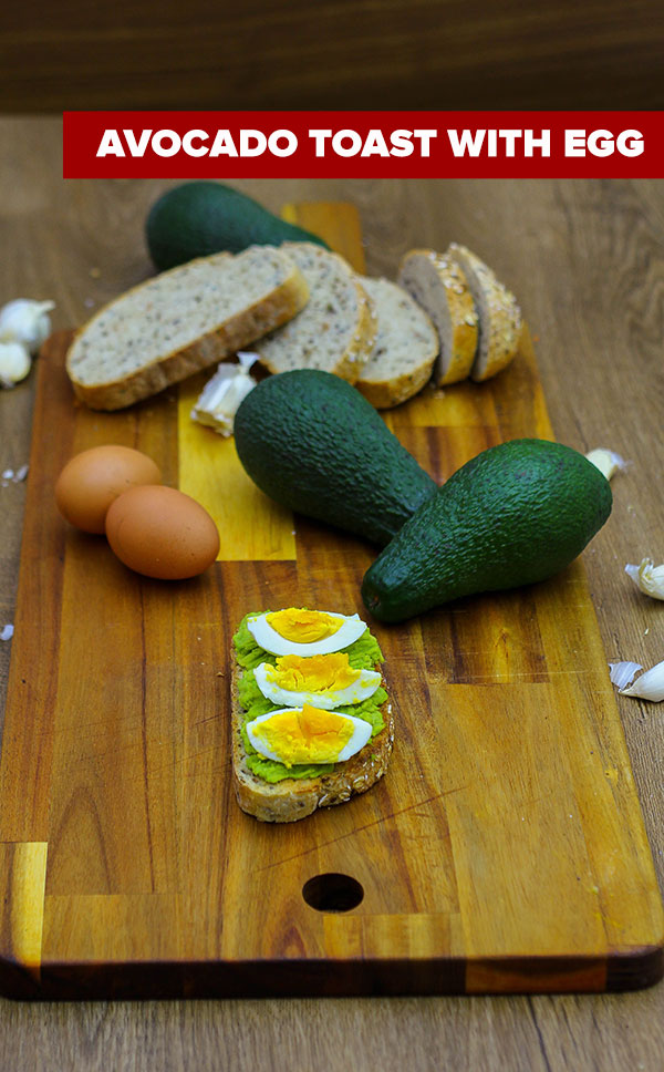 How to Make Avocado Toast With Egg - Recipe and Instructions - Youtube Video Tutorial