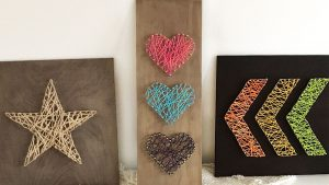 3 Easy DIY String Art Ideas