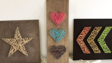 3 Easy DIY String Art Ideas | DIY Joy Projects and Crafts Ideas